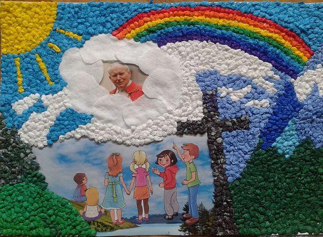 Dzień Jana Pawła II i procesja do Figury