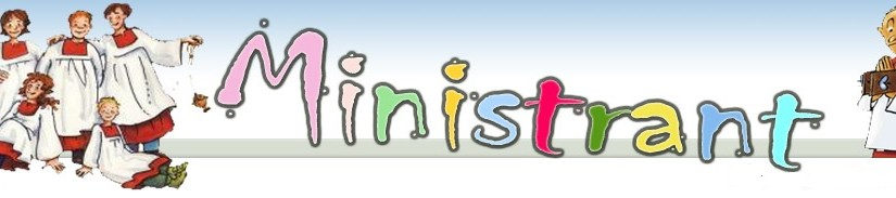 Ogłoszenia dla ministrantów na kwiecień 2016