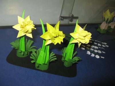 wiosenne origami